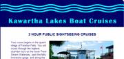 Kawartha Lakes Boat Cruises